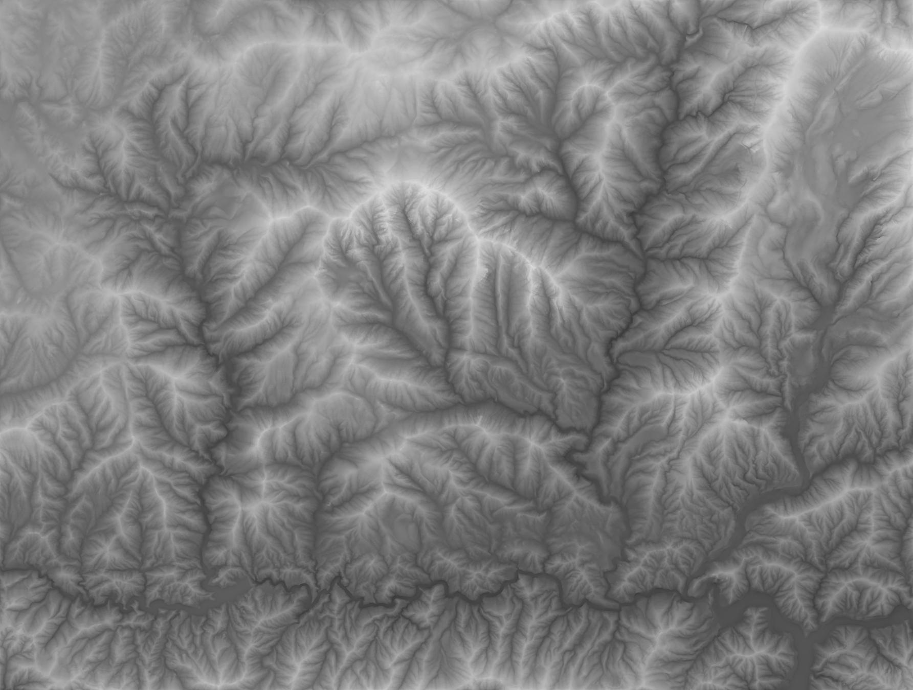 What Is Texture Shading - Terrain elevation data